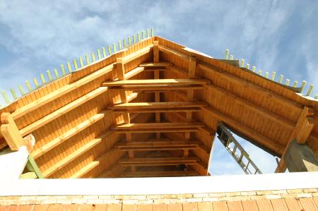 A tető alapja a pontosan kivitelezett ácsszerkezet